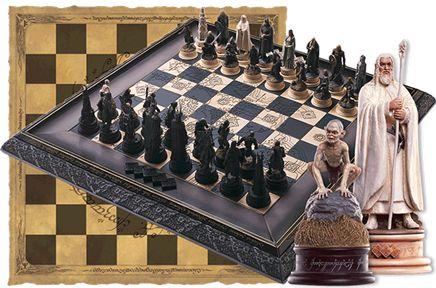 "Наборы шахмат ""Властелин колец"""