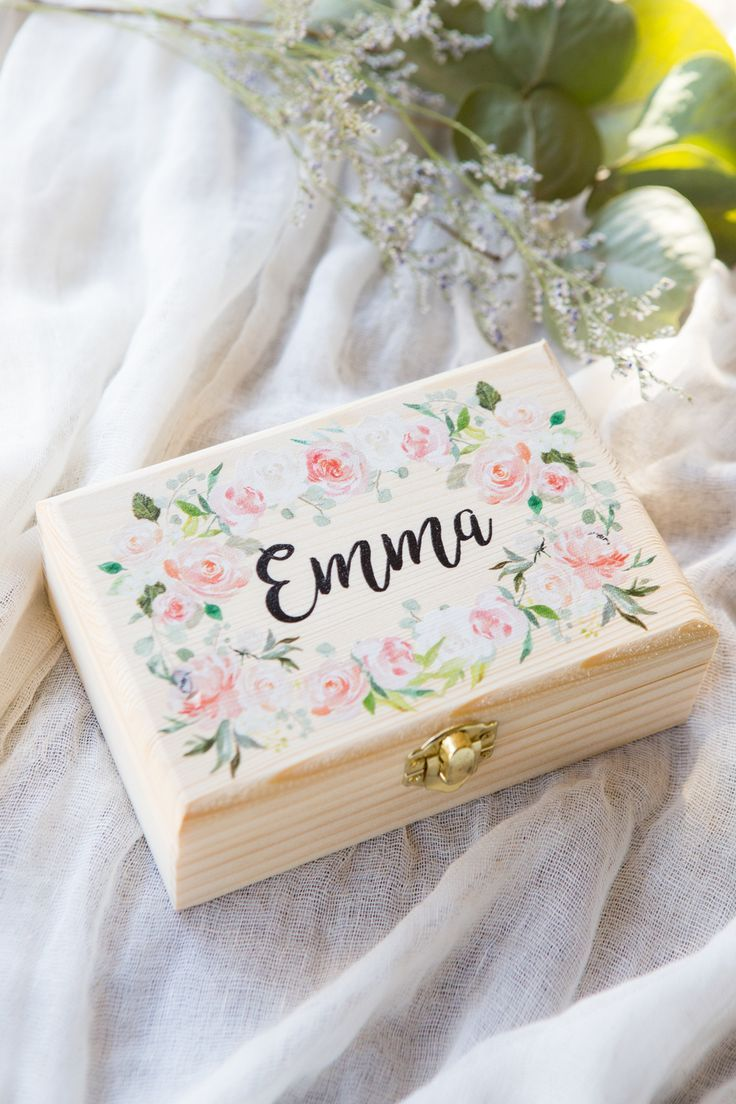 Mother of the Groom For the Bride Mother of the Bride PRINTED Floral Wreath Wedding Handkerchief Personalized FREE Gift Cases
