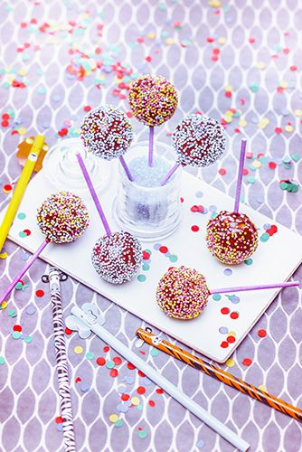 carnaval recettes cake pops chocolat