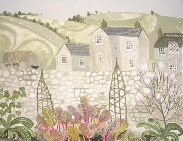 Vanessa Bowman. View with Magnolia