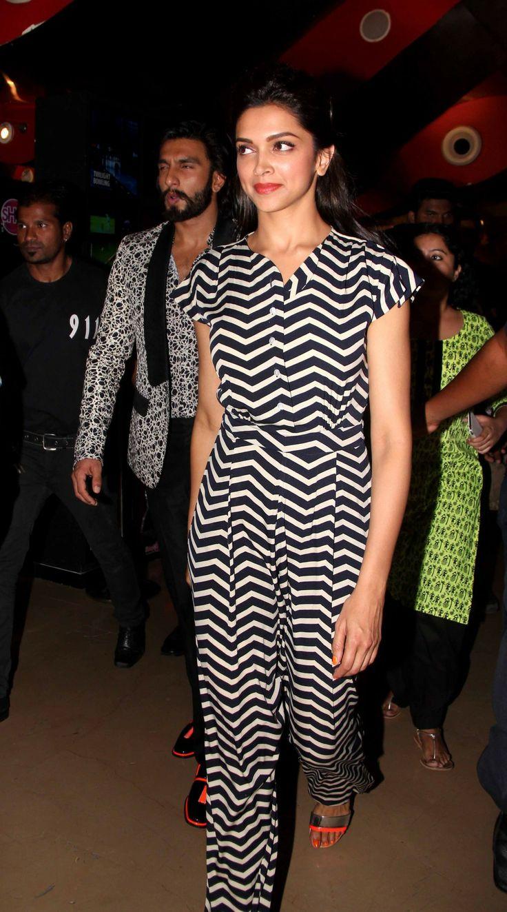 Deepika Padukone and Ranveer Singh Visit Chandan Cinema | Veethi