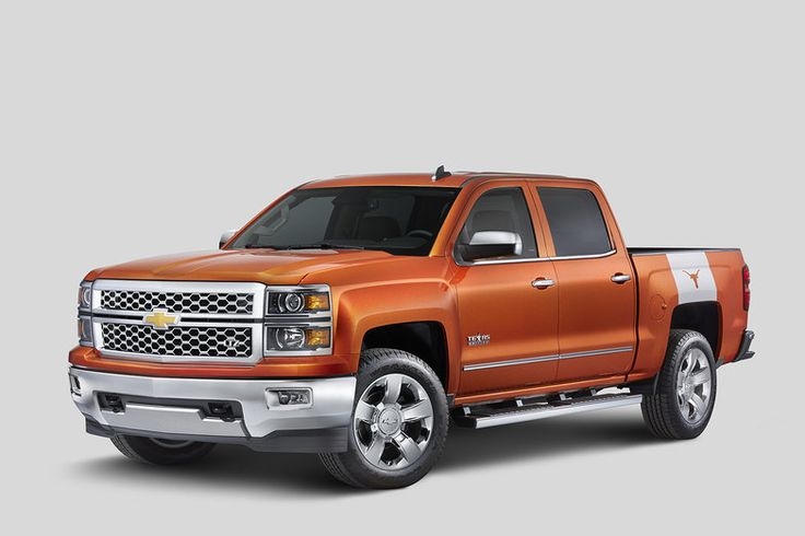Chevrolet Texas Longhorns Silverado edition