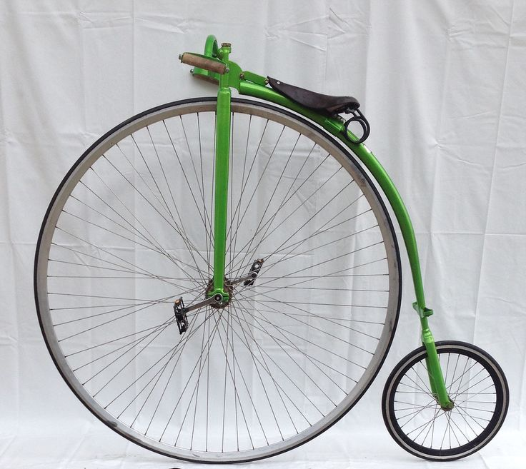 Buy a new bespoke, handmade Penny Farthing High Wheel Bicycle | Gallery