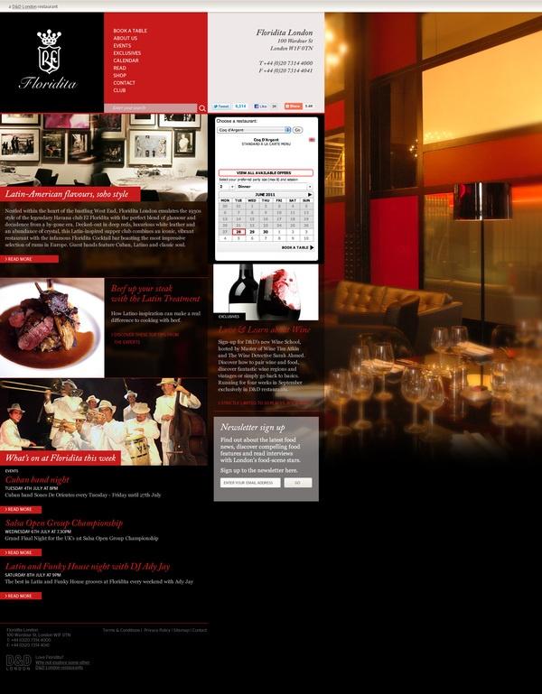 D London Restaurant sites by Neil Macleod, via Behance