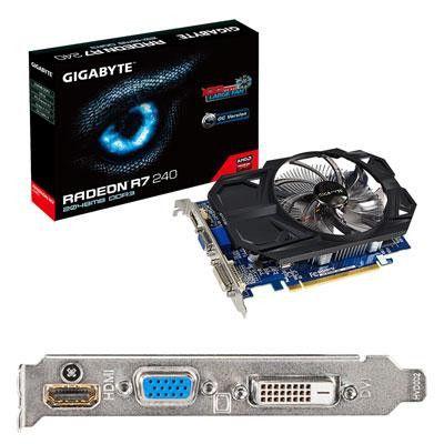 Radeon R7 240 2GB OC - Gigabyte Technology - GV-R724OC-2GIREV2.0