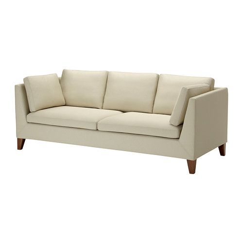 STOCKHOLM Sofa IKEA The cover is easy to keep clean as it is removable and can be machine washed.