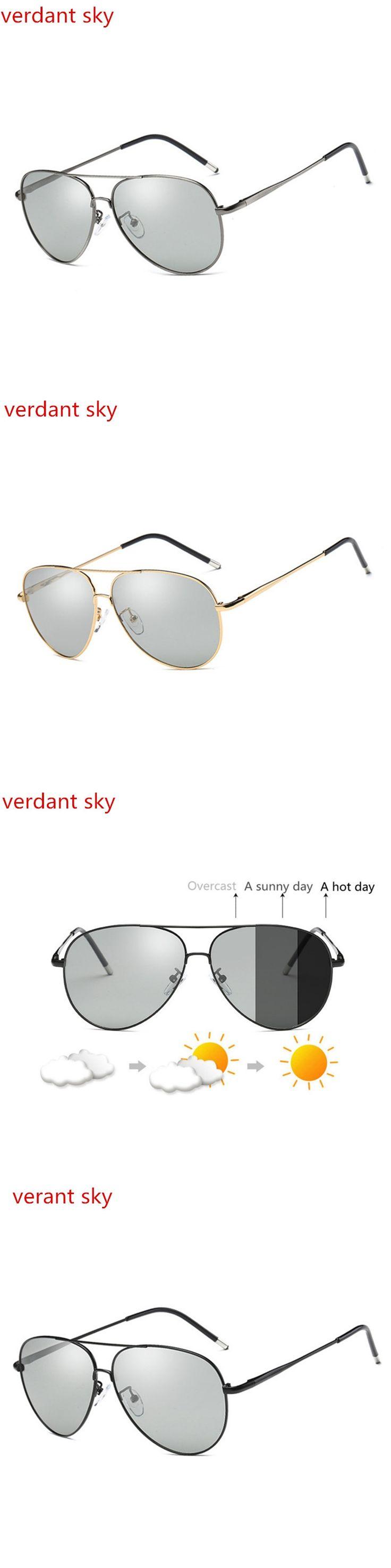 2017 New flight Unisex Photochromic Sunglasses Driving Eyewear Men  Men Eyeglasses Women TV Computer Goggles Reson Lens Original
