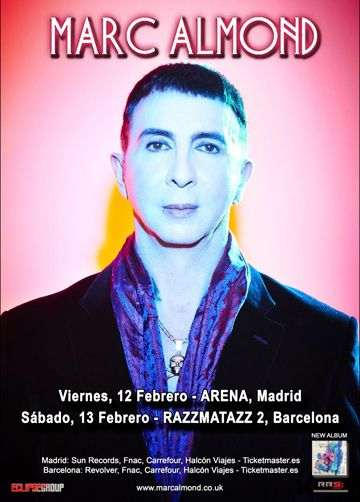 marc almond sala ARENA Madrid