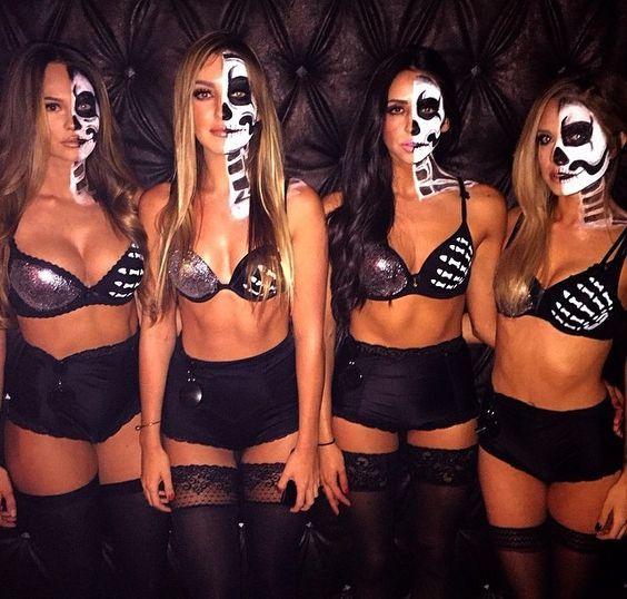 Disfraces para que tú y tus besties combinen en Halloween