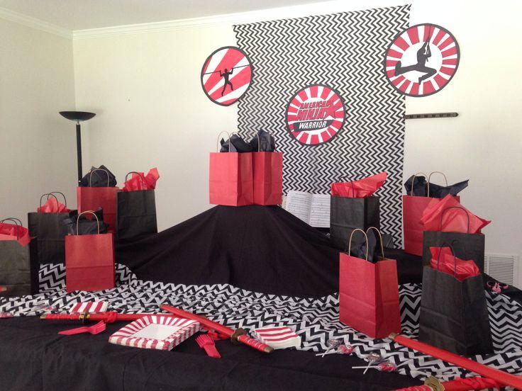 American Ninja Warrior Birthday Party Crafts Pinterest