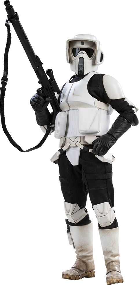 Scout Trooper $189.99  Click on picture above until you get to the main page w/more details, pics, and to order now!
