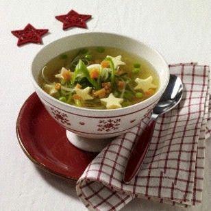 Das Rezept für Sternchen-Suppe und weitere kostenlose Rezepte auf LECKER.de