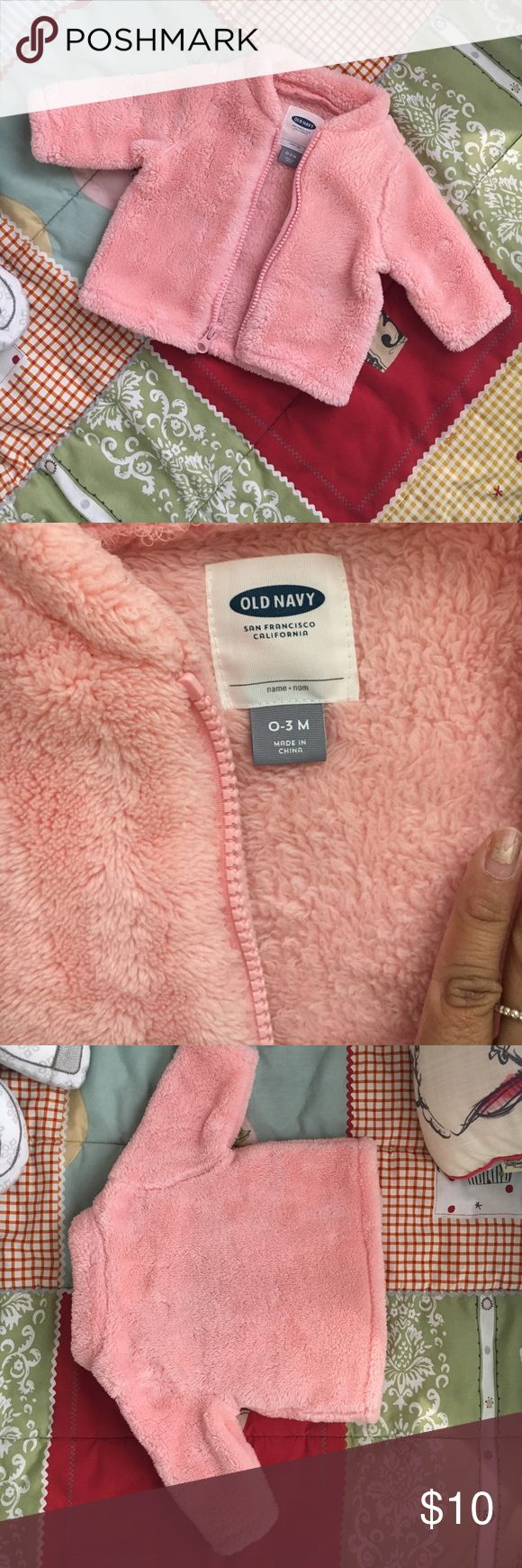Old navy fleece sweater Old navy fleece sweater for 0-3 month old baby Old Navy Jackets & Coats Puffers