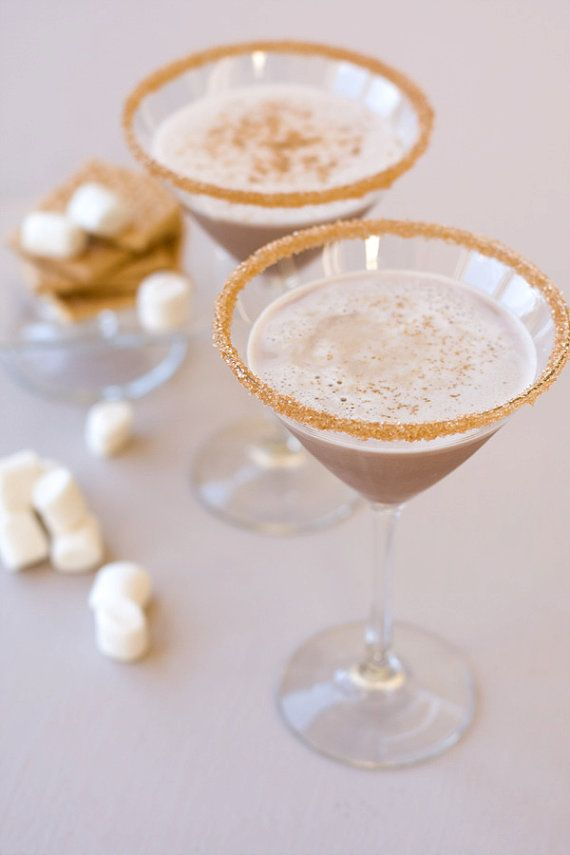 Add some glitter to your toast with gold cocktail sugar.