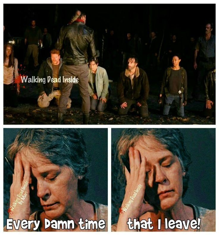 The Walking Dead,Memes, Carol Pelitier, Melissa McBride