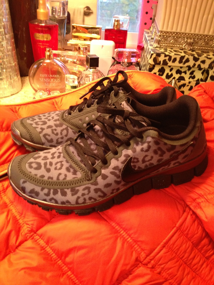 My new Nike leopard shoes