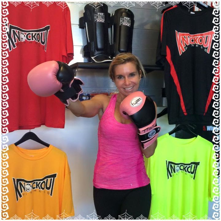 Surprise Member of the week Amanda Hill started 2 months ago. She was a teacher for 17 years and had to leave her job for medical leave due to Lupus. She wanted to do positive things to get healthy so she started bringing her kids, ages 10 and 11, into Knockout too so they could all three do the classes together. The classes are helping build confidence in her and her kids, she is feeling stronger and learning more through working with our trainer, Anthony, and going to classes regularly.