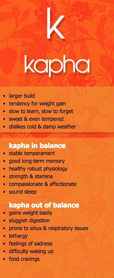 kapha dosha in and out of balance #vpk #MaharishiAyurveda