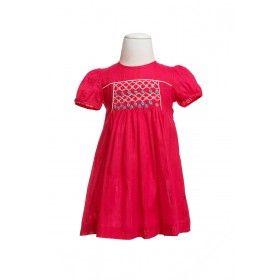Yvette Smocked Dress