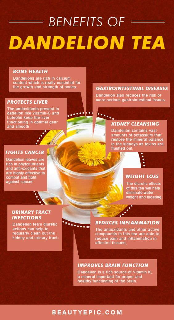 13 Amazing Benefits of Dandelion Tea for Your Health and Skin – Beauty Epic