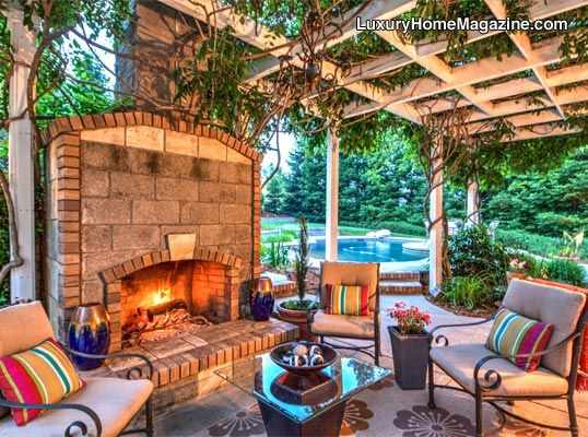 beautiful backyard patio design and sanctuary sacramento luxury home magazine real estate. Black Bedroom Furniture Sets. Home Design Ideas