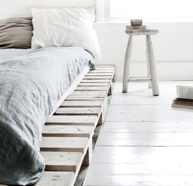 pallet bed base home is where the heart is pinterest
