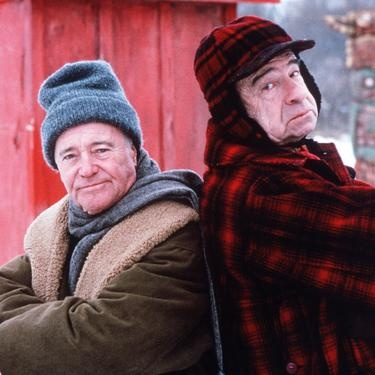 Grumpy Old Men Jack Lemmon & Walter Matthau