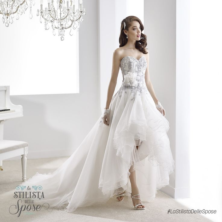 Episodio 2 - L'abito indossato da Ilaria, una frizzante sposa ballerina. Wedding Jolies dress 2016 collection.  http://www.nicolespose.it/it/abito-da-sposa-Jolies--JOAB16406-2016  #Nicole #Jolies #collection #nicolespose #alessandrarinaudo #wedding #flower #flowers #abitidasposa #bianco #white #weddingdress #sposa #bride #brides #bridal #LaStilistaDelleSpose #realtime