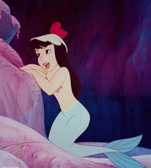 Peter Pan Mermaid (1953). #vintage #mermaid