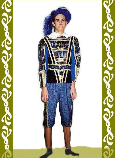 renesanční kostým, Ladana