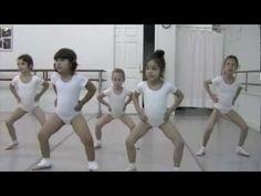 Slavin Nadal School of Ballet: Austin, TX, Pre Ballet II Class, Age 4 - 5 - YouTube