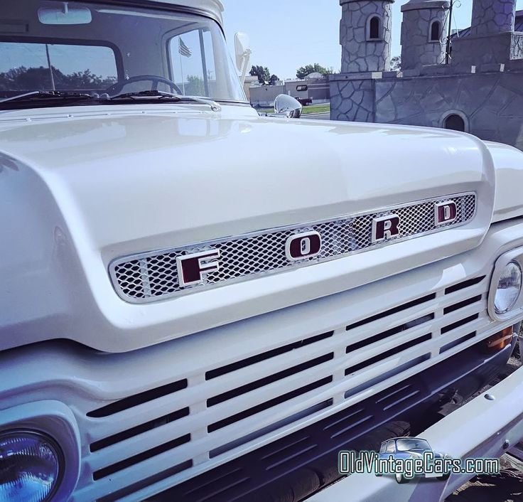 Old Ford Trucks Grill