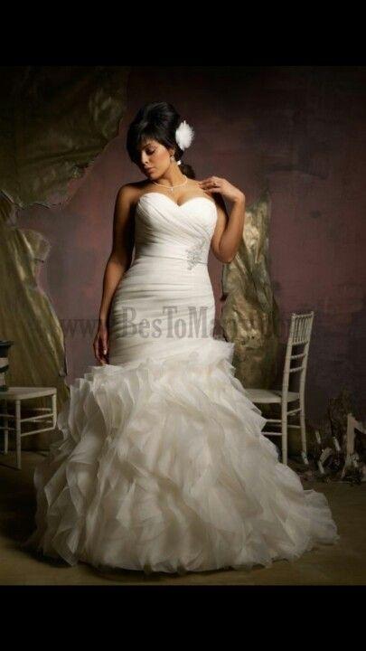 Plus Size Wedding Dresses In Atlanta : Things wedding inspiration mermaid dresses forward plus size