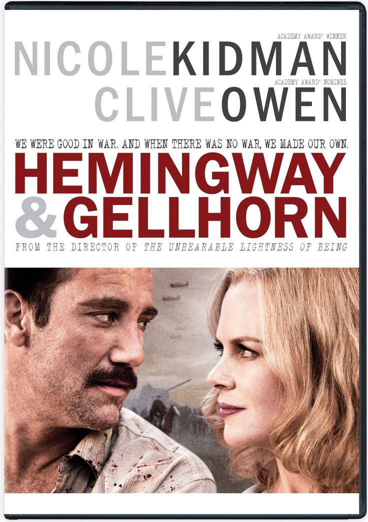 Available in: DVD. A 1936 meeting between novelist Ernest Hemingway and war  correspondent Martha Gellhorn sparks a nine-year relationship dominated by a