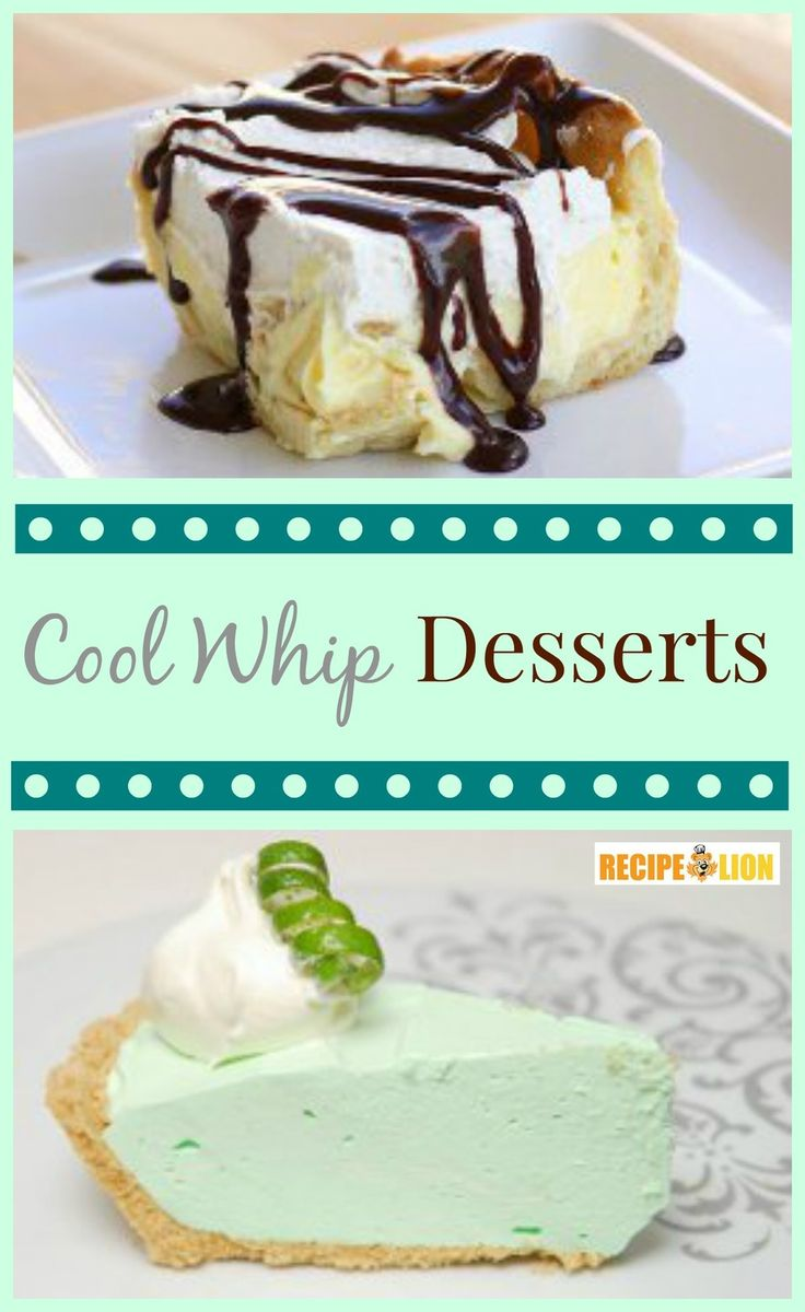 Top 10 Easy Cool Whip Desserts