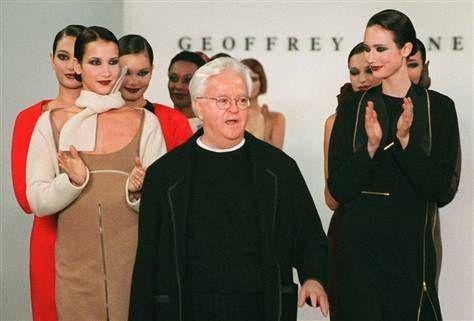 Geoffrey Beene: Making philanthropy fashionable.