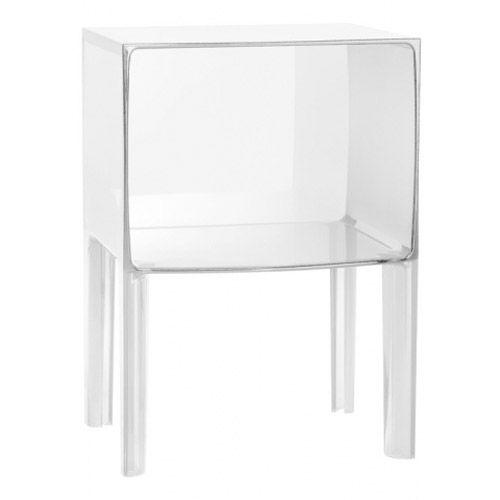 Small Ghost Buster yöpöytä, läpinäkyvä Kartell - Osta kalusteita verkossa osoitteessa ROOM21.fi