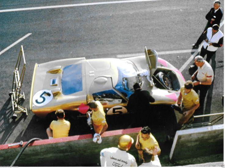 FORD GT40 MKII 1966 LE MANS 24 HOURS HOLMAN MOODY RONNIE BUCKNAM DICK HUTCHERSON | eBay