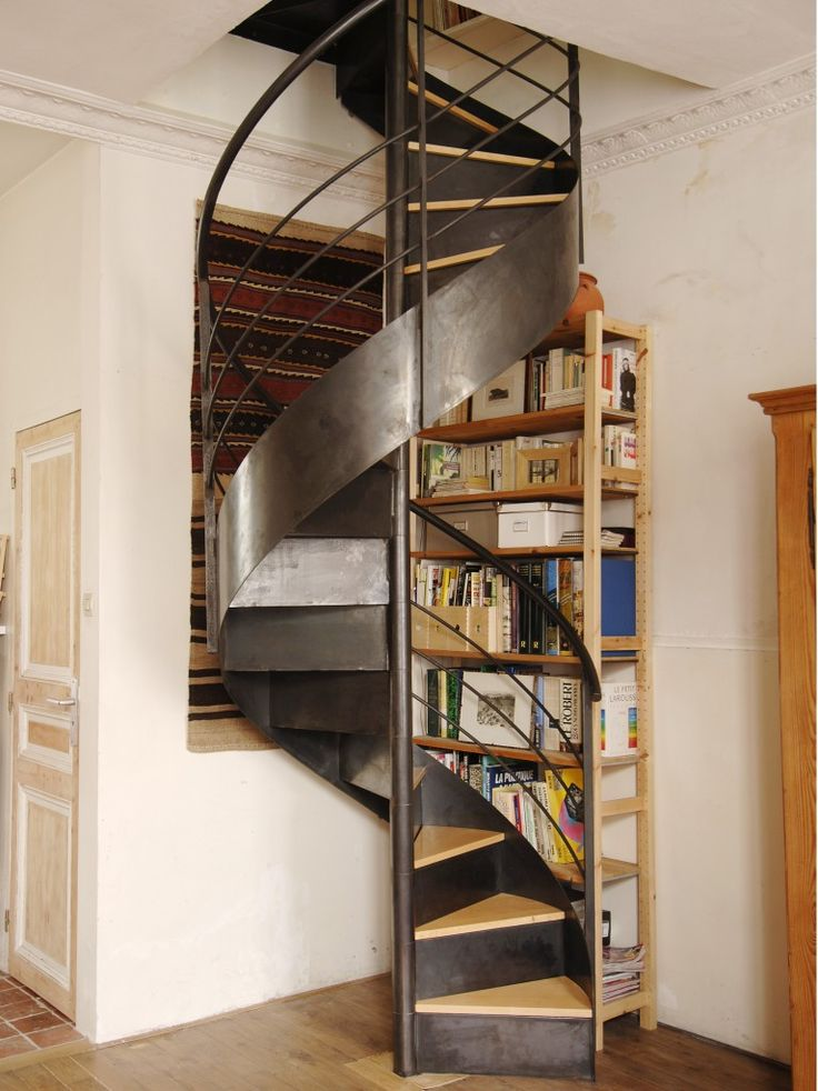 ESCALIERS DECORS - DH37 L'escalier hélicoïdal (ou à vis ou en colimaçon) www.ed-ei.fr