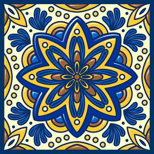 Las 25 mejores ideas sobre azulejos mexicanos en pinterest for Azulejos sobre azulejos