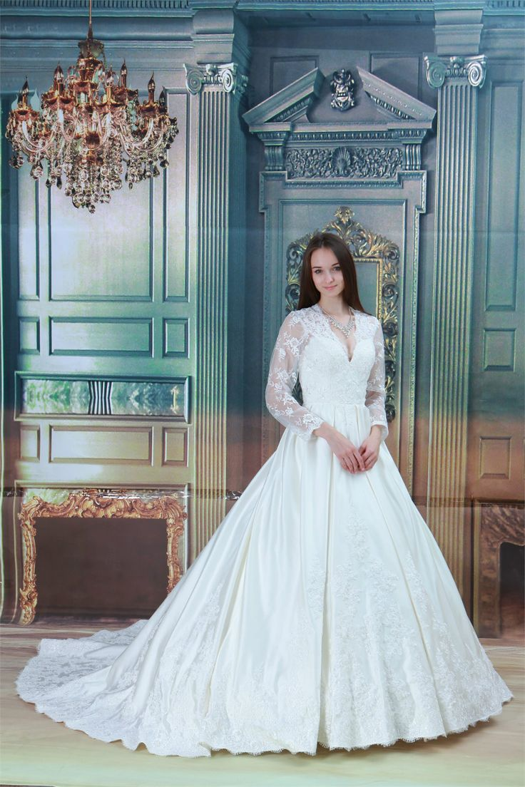 36 best A-line Wedding Dress images on Pinterest | Bridal dresses ...