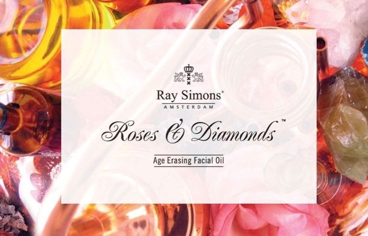 Roses and Diamonds Age Erasing Facial Oil by Ray Simons