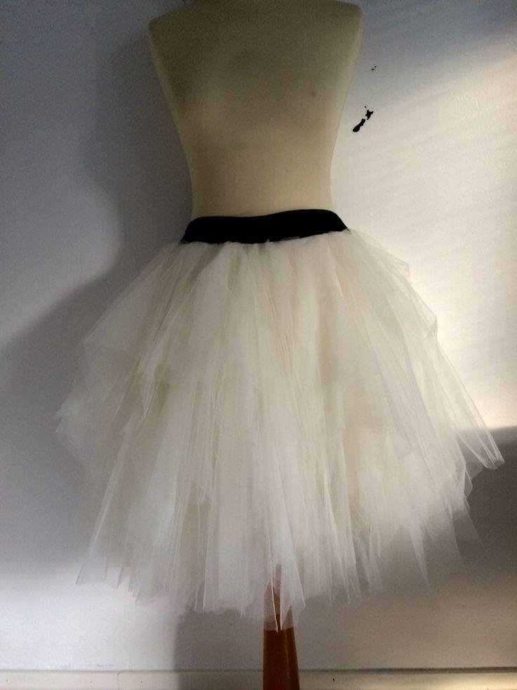 Muhkea tyllihame #fluffy tulle skirt