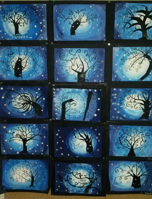 L'arbre en hiver                                                                                                                                                                                 Plus                                                                                                                                                                                 Plus