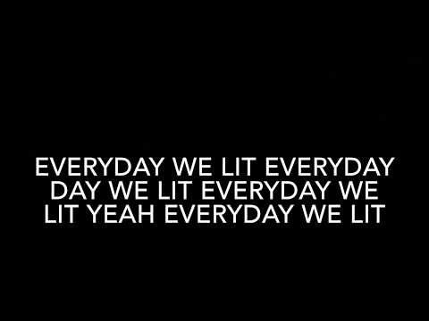 YFN Lucci ft  PnB Rock - Everyday We Lit (Clean Lyrics