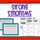 This is an activity to practice synonyms for nouns, verbs, and adjectives.  Included in this synonym challenge: Are 4 different synonyms for common nouns, verbs and adjectives.  Set up ideas with directions, Student friendly directions  Blank sheets are also included.
