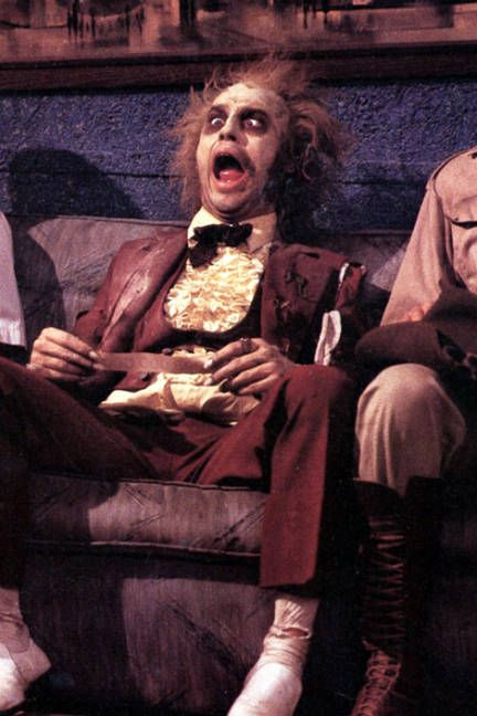 Tim Burton Movie Makeup - ELLE