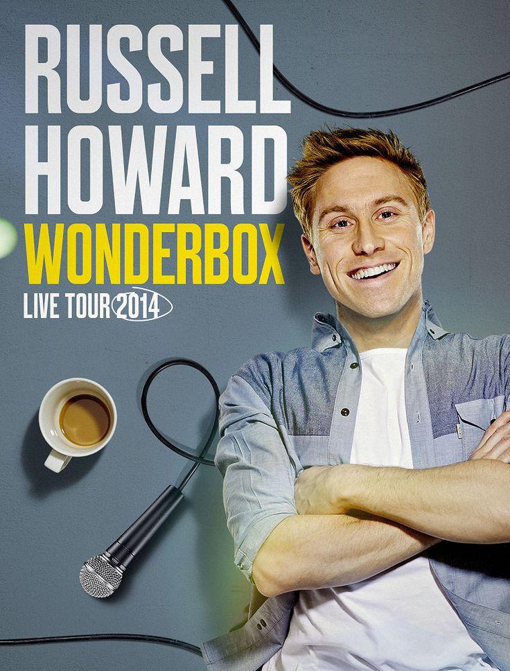 Russell Howard | Wonderbox Tour