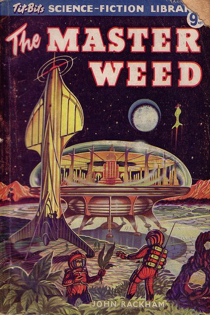 Ron Turner illustrated the cover of this 1954 edition of The Master Weed by John Rackham.