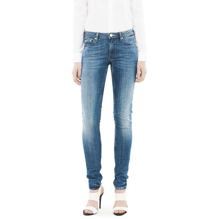Acne low vintage jeans